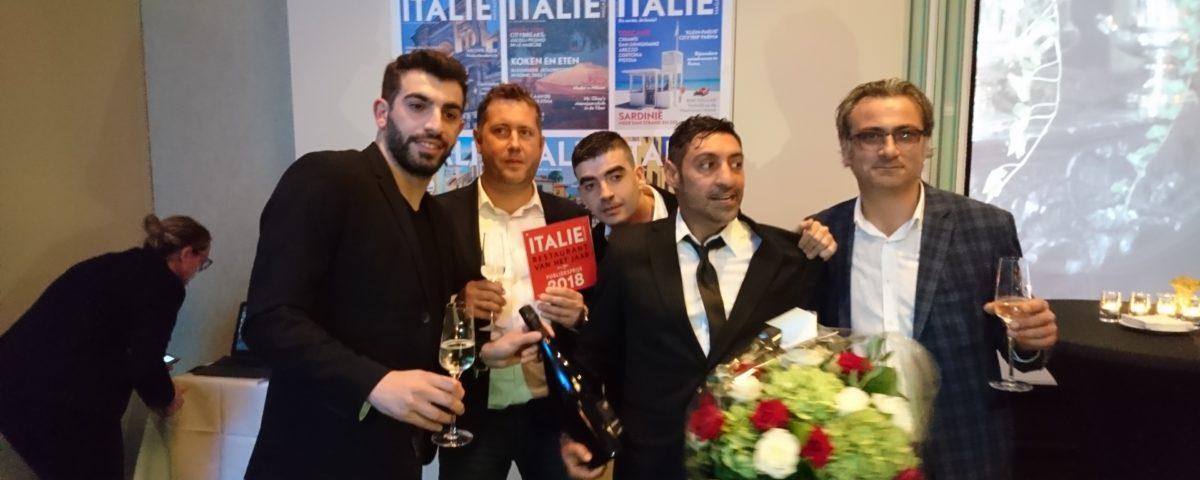 Beste Italiaans restaurant van Nederland 2018 Hilton